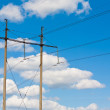 Electric power transmission — Stock Photo #8083572