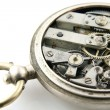 Old pocket watch mechanism — Stock Photo #10040165