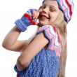 Smilling little girl — Stock Photo