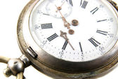 Old broken pocket watch — Stock Photo