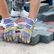 Brick paver - Stock Photo