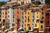 Row Houses, Portovenere, Italy — Stock Photo