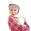 Angry little girl — Stock Photo #8325466