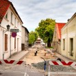 Stock Photo: Street reconstruction