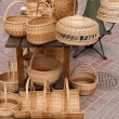 Handmade Wicker items — Stock Photo