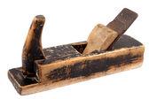 Old carpenter instrument wood plane — Stock Photo