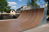 Skate park, ramp — Stock Photo