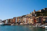 Portovenere harbour, Italy — Stock Photo