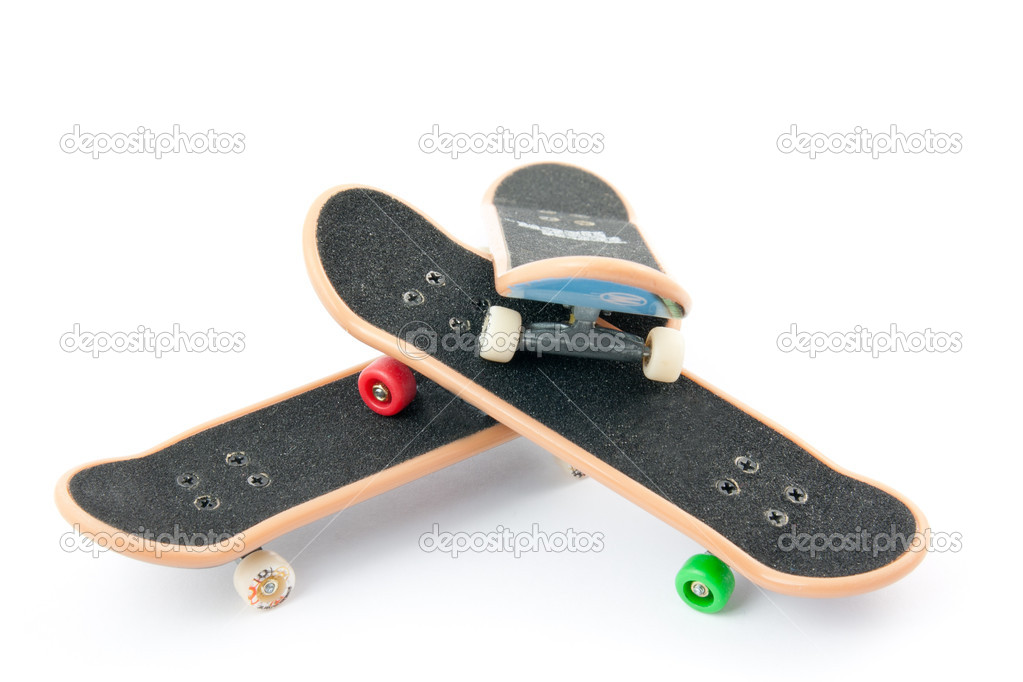 Three boards on a white background  Stock Photo #8670569