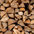 Stack of firewood — Stock Photo #8807240