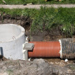 Sewage pipes — Stock Photo #8850616