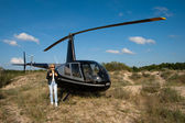 Helicopter — Stockfoto