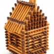 House from matches — Stock Photo #8925051