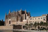собор пальма де майорка — Стоковое фото