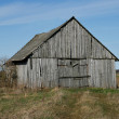 Old wooden barn. — Stock Photo