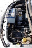 古いディーゼル エンジン — ストック写真
