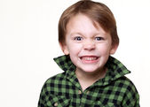 Little mad kid — Stock Photo