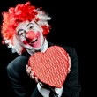 Clown Date love — Stockfoto