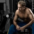 Man resting after workout — Stock Photo #8170264