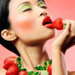 Strawberry delight - Stock Photo