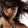 Windblown — Stock Photo