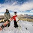 Snowboarders — Stock Photo #9316177