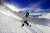 Snowboarder — Stock Photo