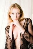 Sheer lingerie — Stock Photo