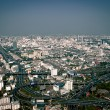 View of modern Bangkok from Baiyoke sky viewpoint, Thailand — Stock Photo