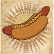 Hotdog icon — Stock Vector