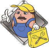 Good work - vector icon. — Stock Vector