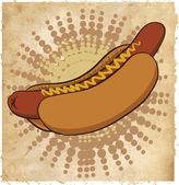 Hotdog icon — Stock Vector