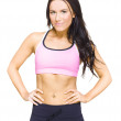 Stock Photo: Female Gym Personal Fitness Trainer Or Instructor