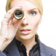 Stock Photo: Business Vision