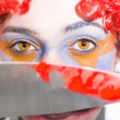 Royalty-Free Stock Photo: Death Stare Clown