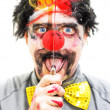 Sinister Clown — Stock Photo