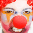 Red Clown Rage — Stock Photo #10037217