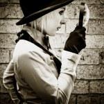 Vintage Detective — Stock Photo