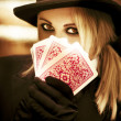 Foto Stock: Gypsy Fortune Teller