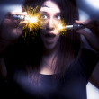 Stock Photo: Bright Sparks