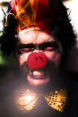 Angry The Clown — Stock Photo
