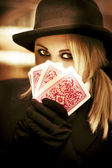Gypsy Fortune Teller — Stock Photo