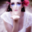 Stockfoto: Enchanted Fairy Kisses