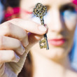 Vintage Skeleton Key — Stock Photo