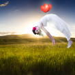 Stock Photo: Love Is In The Air