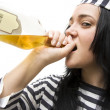 Drinking Detainee — Stock Photo