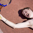 tennis elbow — Stock Photo