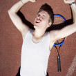 Tennis Triumph — Stock Photo #10080357