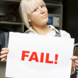 Fail! — Stock Photo