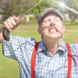 Stock Photo: Funny Golf